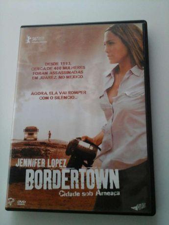 Filme original, em DVD, BORDERTOWN - Cidade sob Ameaça, como novo!