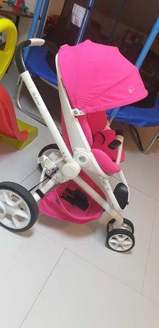 carrinho de bebê moodd quinny pink passion