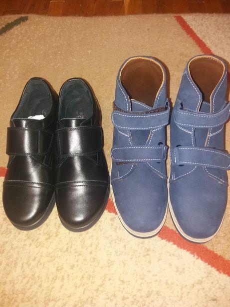 Туфли ботинки ортопедические кожаные для мальчика