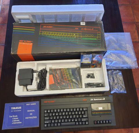 Computador ZX Spectrum 128K +2 em caixa ( RARO )