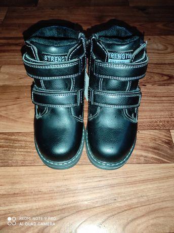 Зимние ботинки на мальчика 28 размер
