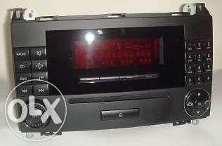 Auto-Radio Leitor de CD Mercedes Audio 20 Para Classe C