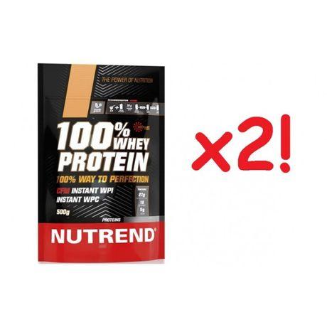 ZESTAW 1+1 Gratis! Nutrend 100% WHEY Protein, niepowtarzalna okazja!