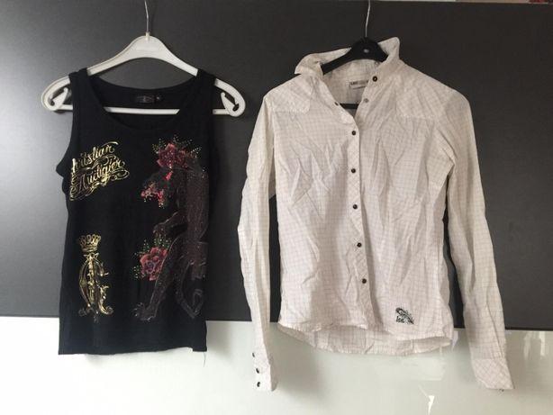 """Koszula """"Lee"""" i bluzka bez ramiączka"""