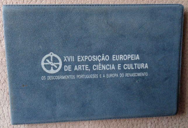 Carteira BNC Moedas prata 1983 XVII Exposição
