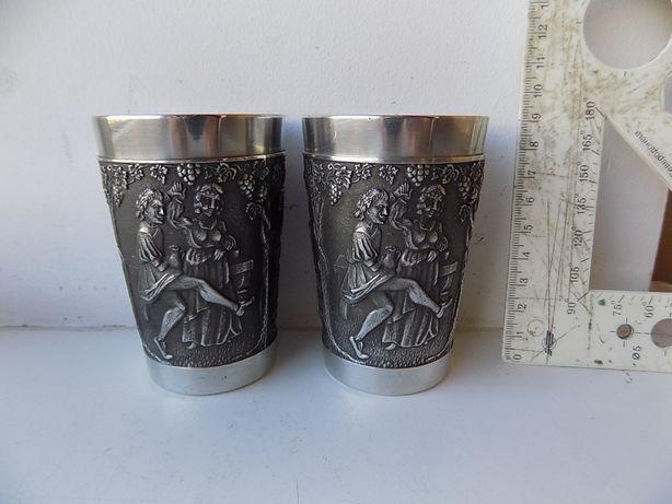 Подарочные стаканы бокалы Таверна олово Клеймо 2 шт