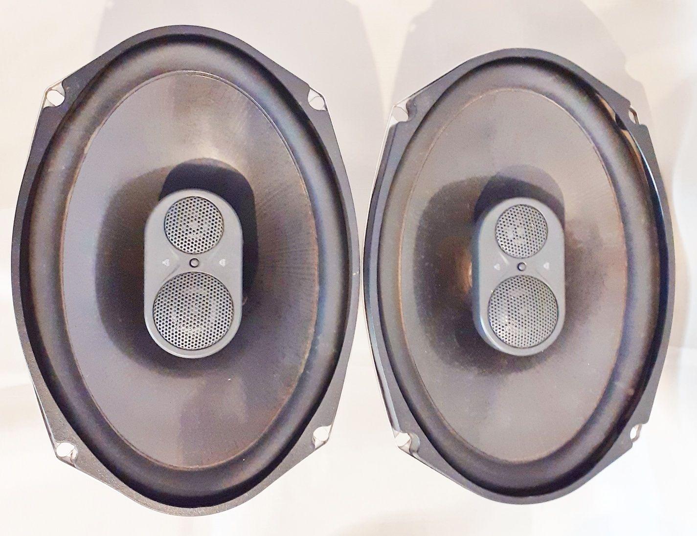 JBL GTO938 6''x9''(152X230MM) 3 Vias 100W RMS 300W Musicais