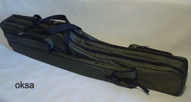 Чехол сумка кофр для удилищ, удочек 130, 150 OKSA