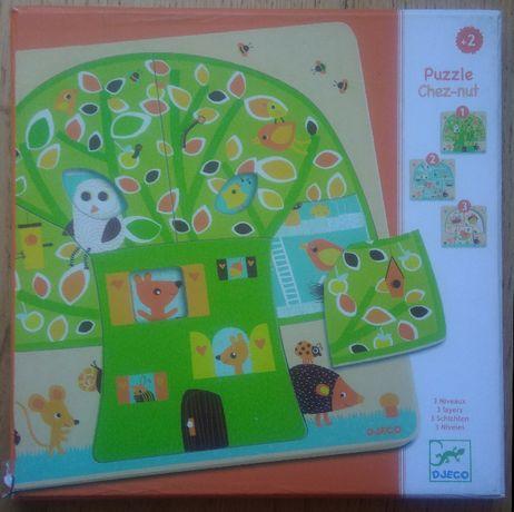Djeco układanka puzzle warstwowe Drzewo