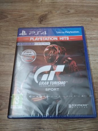 Gra PlayStation 4 GRAN TURISMO Sport PL PS4 nowa w folii