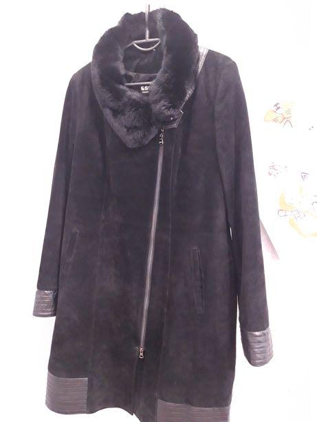 Замшевое пальто Esocco 48 размер