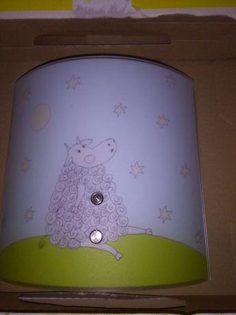 Lampka na ścianę dziecięca