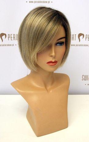 Peruka z włosów syntetycznych półdługa Tarnobrzeg
