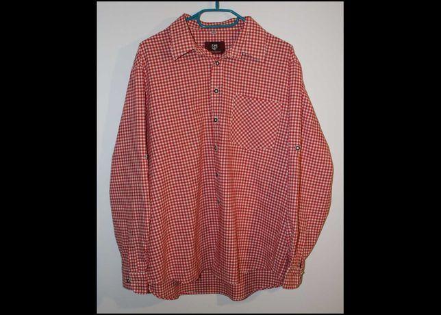XL XXL koszula damska Drachten czerwono biała kratka