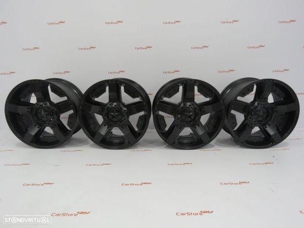 Jantes 4x4 Aluminio 18 x 9 et25 6x114.3  Mercedes Class X + Nissan Navara