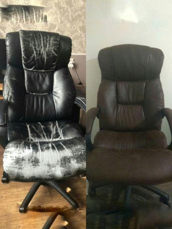 Офисное компьютерное кресло, стул.Поменять обивку,перетяжка.