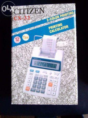 Máquina de calcular CITIZEN - NOVA