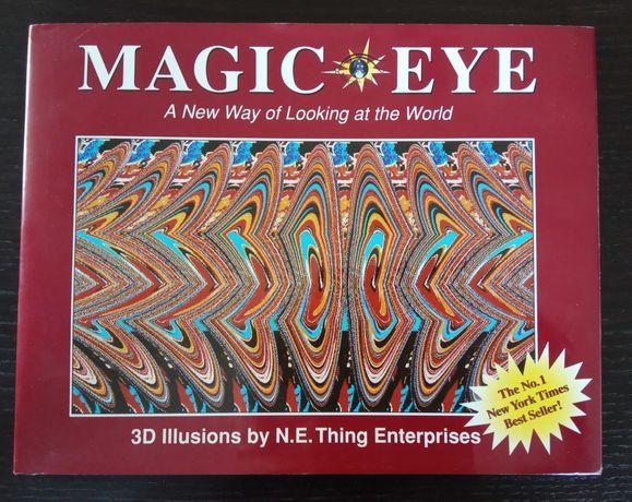 Książka Magic Eye Iluzje 3D