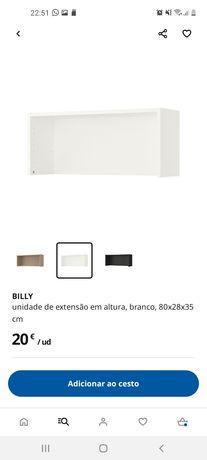 Unidade de Extensão em altura - Billy 80x28x35