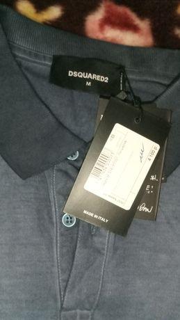 Черная пятница.Фирменная новая футболка DSQUARED made in itali.