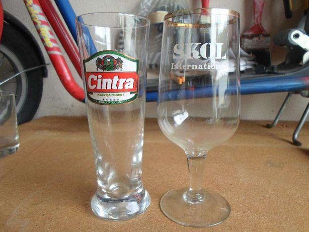 15 copos de colecçao ou para uso