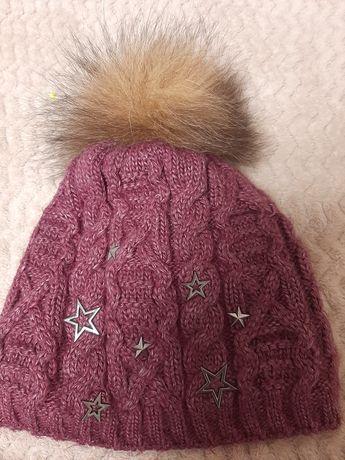 Зимняя шапка +хомут