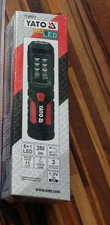 Светодиодный аккумуляторный фонарь Yato YT-08513