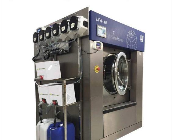 Máquinas de secar e lavar roupa industrial 20kg lares e hospitais