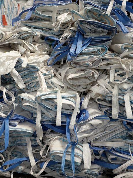 Czyste big bag bagi worki bigbags czyste 85x100x148 cm na zboze