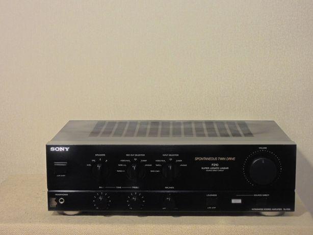 Музыкальный транзисторный HI-FI усилитель SONY TA-F210 (2х80Вт)