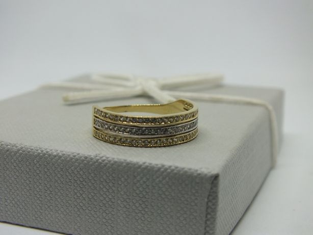 ** Złoty pierścionek 2,85g p.585-Lombard Stówka**