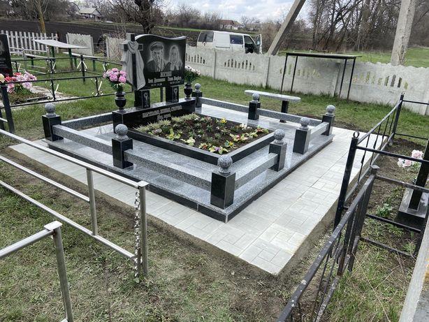 Пам'ятники, гранітні вироби, бетонна плитка в Яготині
