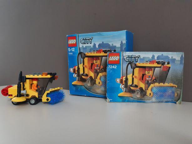 Lego city 7242 Zamiatarka