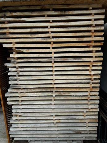 Deski dębowe 32 mm suche sezonowane
