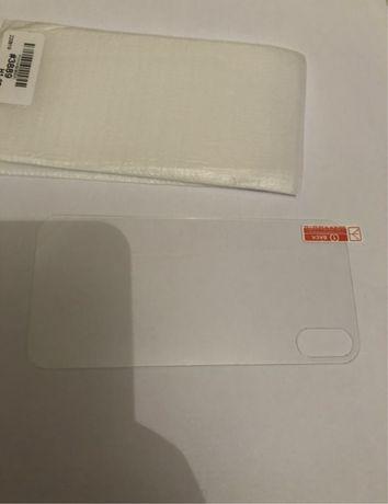 Peliculas vidro traseira iPhone X