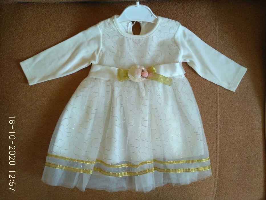 Детское платье нарядное, 74р. Новая Водолага - изображение 1