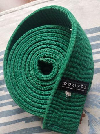 pas karate zielony