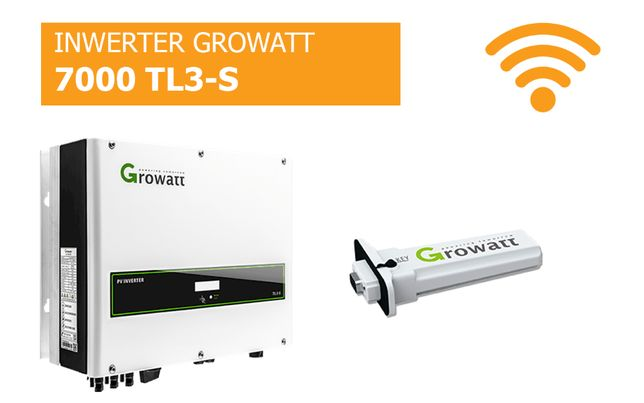 Falownik Growatt 7000 TL3-S WiFi Inwerter cena brutto