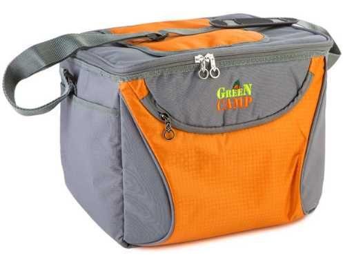 Пляжная сумка, термосумка, сумка-холодильник GREEN CAMP 15 литров