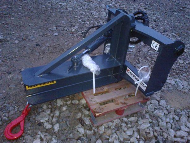 Wysięgnik - żuraw nastawny hydraulicznie, przedłużka ładowarki telesko