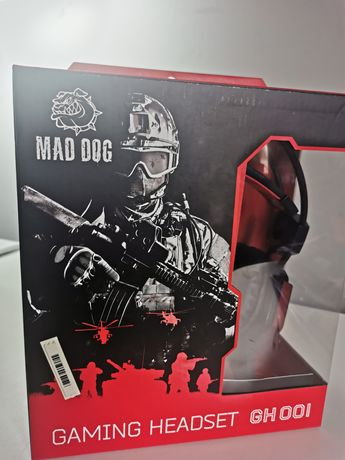 Gaming Headset GH 001 słuchawki gamingowe Mad Dog