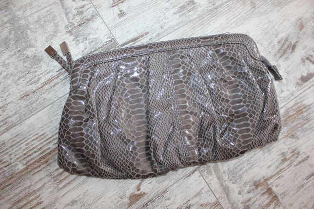 клатч сумка серая черная H&M