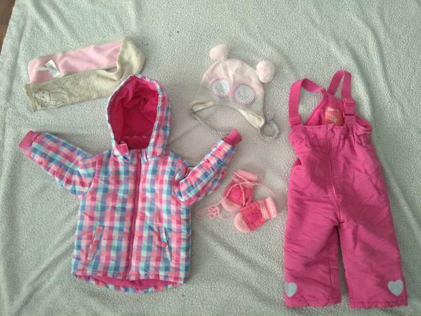 Zestaw ubrań jesień zima 86-92