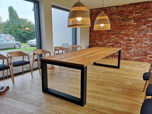 Stół dębowy loft / industrial 200x100cm -nowy, producent, inne wymiary