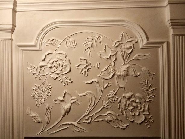 Художник барельеф лепка львів декор розпис стін фасад малюнок рисунок