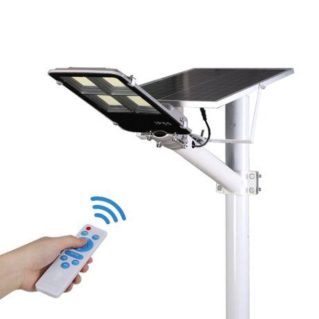 Lampa Solarna Latarnia FVAT 23% Uliczna 200w LED z Pilotem