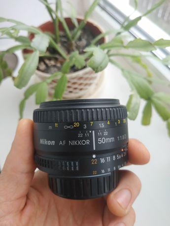 Объектив Nikon 50mm 1.8d