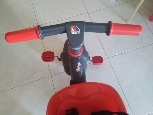 Triciclo Criança - MOLTO Urban Trike Soft Control Red 17200