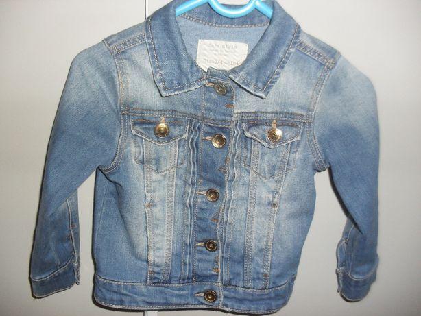Kurtka jeansowa, katana Zara 104 jak NOWA