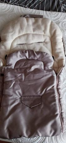 Śpiwór do spacerówki i ubranka